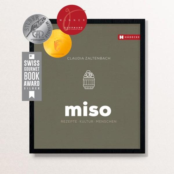 Miso Kochbuch, Kochen mit MISO, Warenkunde & Rezepte, 216 Seiten