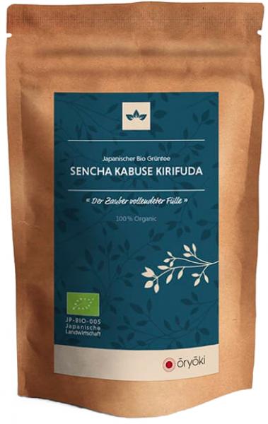 Oryoki, japanischer Grüntee, Sencha Kabuse Kirifuda, BIO, höchste Qualität 50g