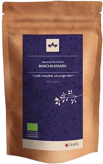 Oryoki, japanischer Grüntee, Bancha Kigaru, BIO, höchste Qualität 100g