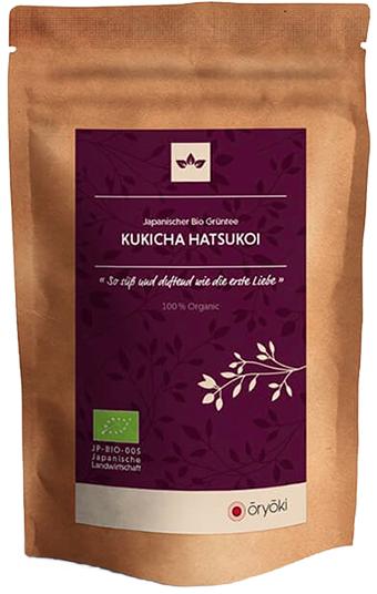 Oryoki, japanischer Grüntee, Kukicha Hatsukoi, BIO, höchste Qualität 50g