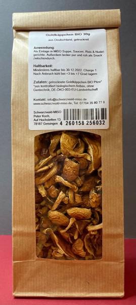 Austernseitling BIO Pilze getrocknet aus Deutschland, 30g