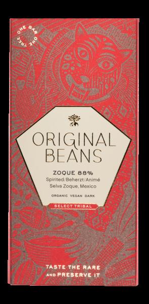 Selva Zoque Mexico - BIO Bitterschokolade, 88% Kakao, Litschi & Kokos Aroma, 70g