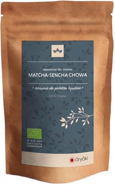 Oryoki, japanischer Grüntee, Matcha-Sencha Chowa, BIO, höchste Qualität 50g