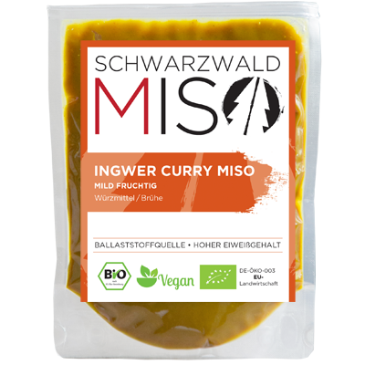 Ingwer Curry Miso BIO Paste 220g