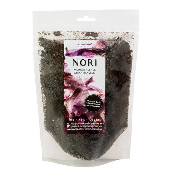 Nori Algen BIO, Nori Flocken, 2 min rösten, 15 min einweichen, Eiweißreich, Vitamin A, 100g